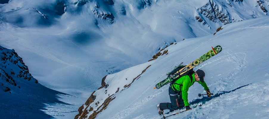 Ski Mountaineering in the Ortler Range