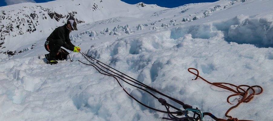Crevasse Rescue and Glacier Travel